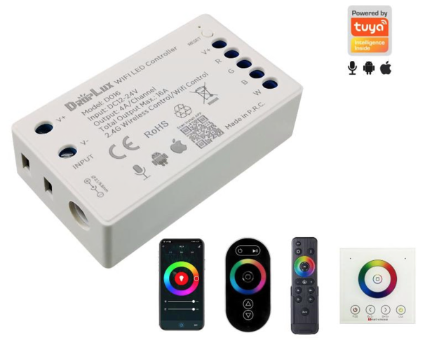 Controllers,  Dimmers & Power Supplies